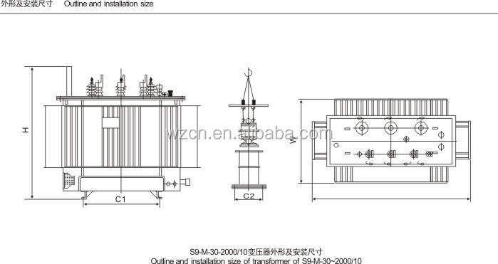 Best Price 3 Phase 400kw Power Transformer400 Kva