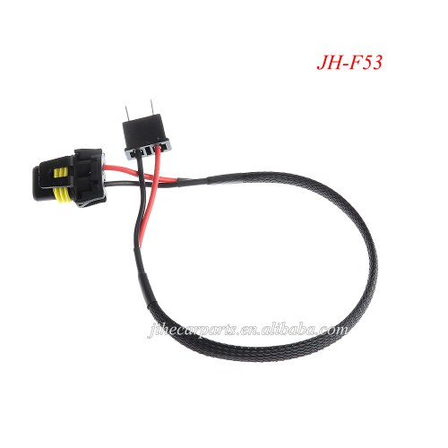 small resolution of car stereo wiring harness h7 connectors hid relay harness
