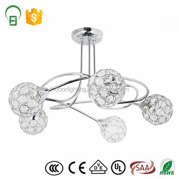 Luxury Crystal Chandelier Ceiling Lamps For Living Room