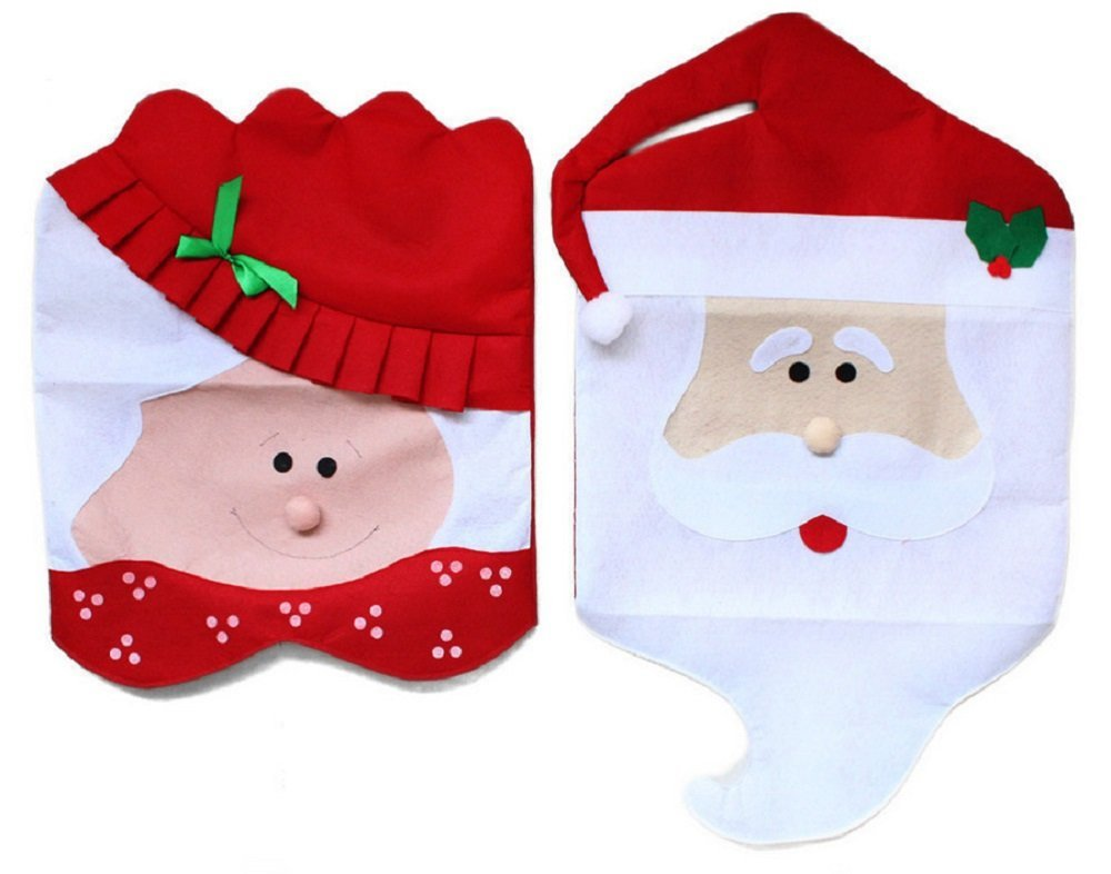 chair covers new year express buy 2pcs lot christmas decoration indoor supplies mr mrs santa claus kitchen dinner chairs