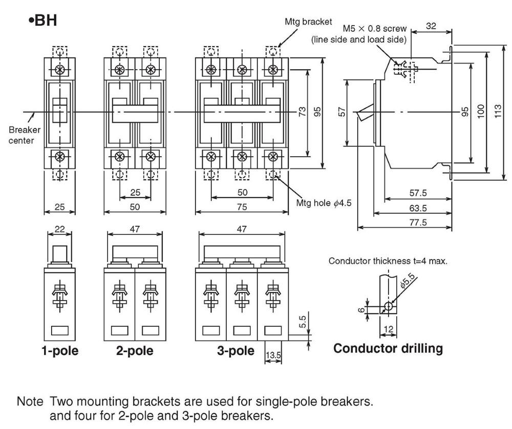 circuit breaker gfci qo 1p 30a ebay