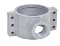 Pvc Pipe Fitting Saddle Clamp And Repair Clamp - Buy Pvc ...