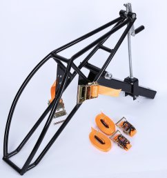 get quotations new motorcycle receiver hitch hauler trailer tow dolly rack carrier motorcycle trailer hitch carrier [ 2560 x 2560 Pixel ]