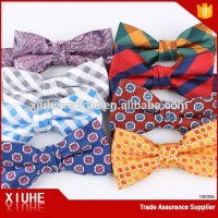 Fashion Cheap Bow Ties Colorful Polyester Men Bow Ties ...