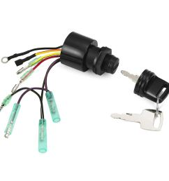 get quotations rupse 87 17009a5 ignition key switch for mercury outboard box motor 3 position off  [ 1001 x 1001 Pixel ]