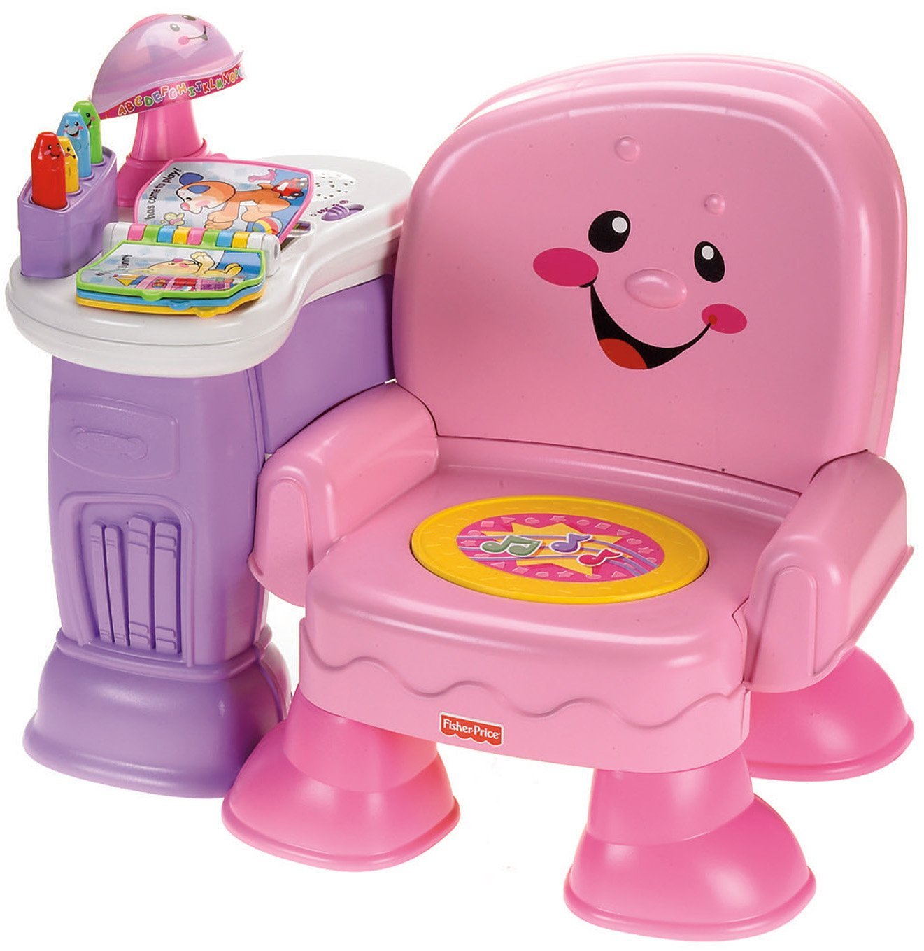 Activity Chair Buy Fisher Price Laugh Learn Musical Activity Chair Pink In