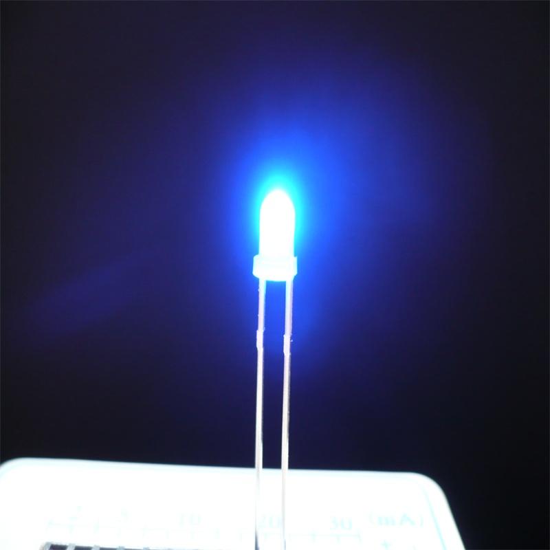 3mm Lens Welding Blue Mini Single Led Lights Buy Mini