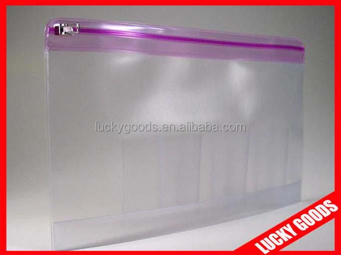Durable Design Clear Plastic BagZipper Pvc Pouch  Buy