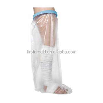 waterproof cast and bandage