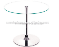 Dt26 Used Glass Round Table And Chair For Restaurant - Buy ...