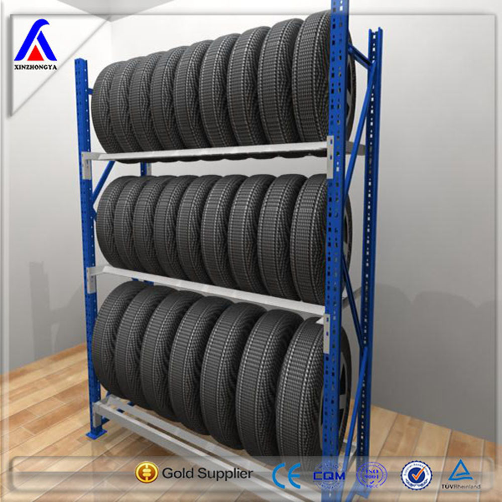 Metal Heavy Duty Car Truck Tyre Storage Rack
