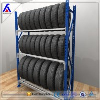 Metal Heavy Duty Car Truck Tyre Storage Rack