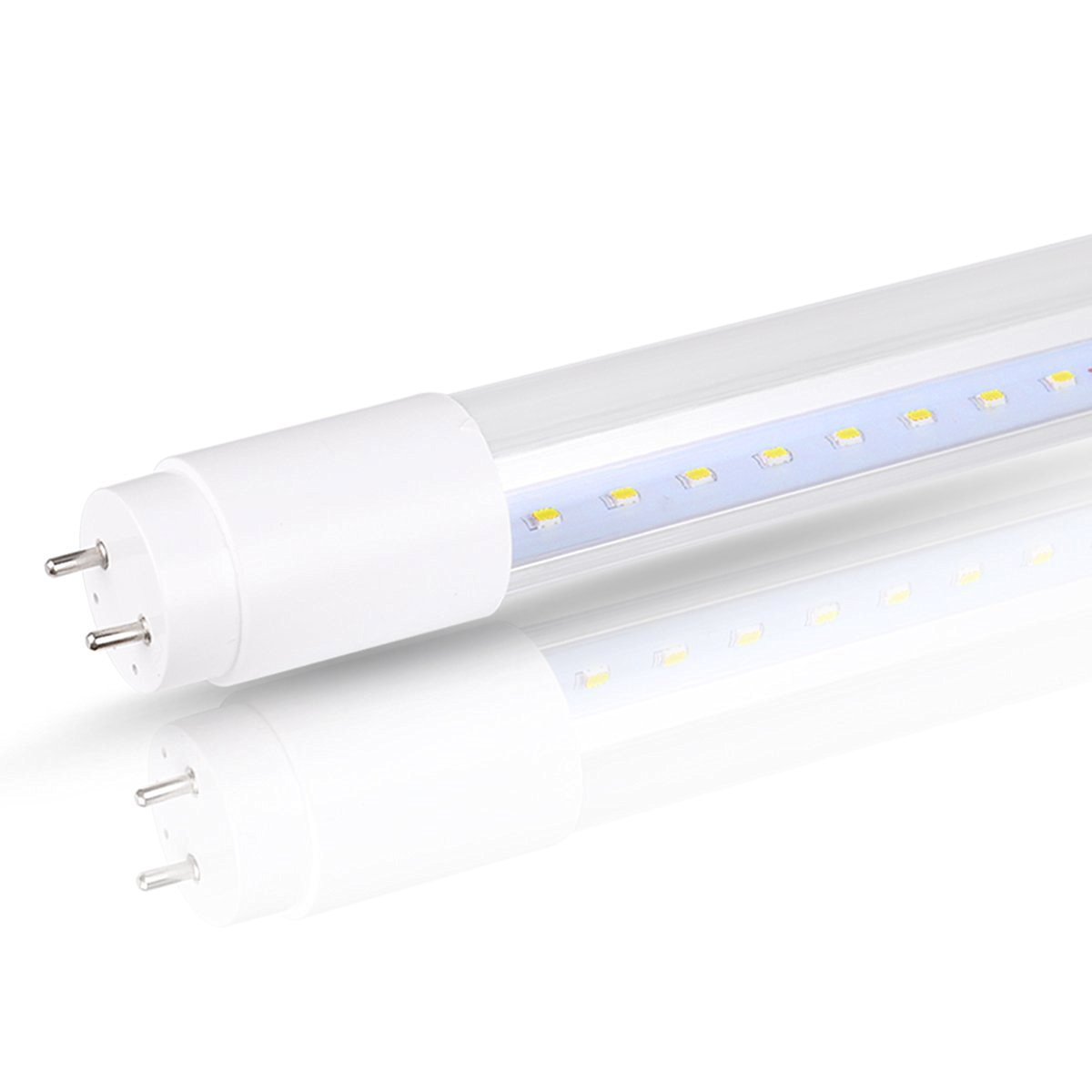 hight resolution of get quotations lohas led light bulb t8 led light tube 18w 40w equivalent 1600lm