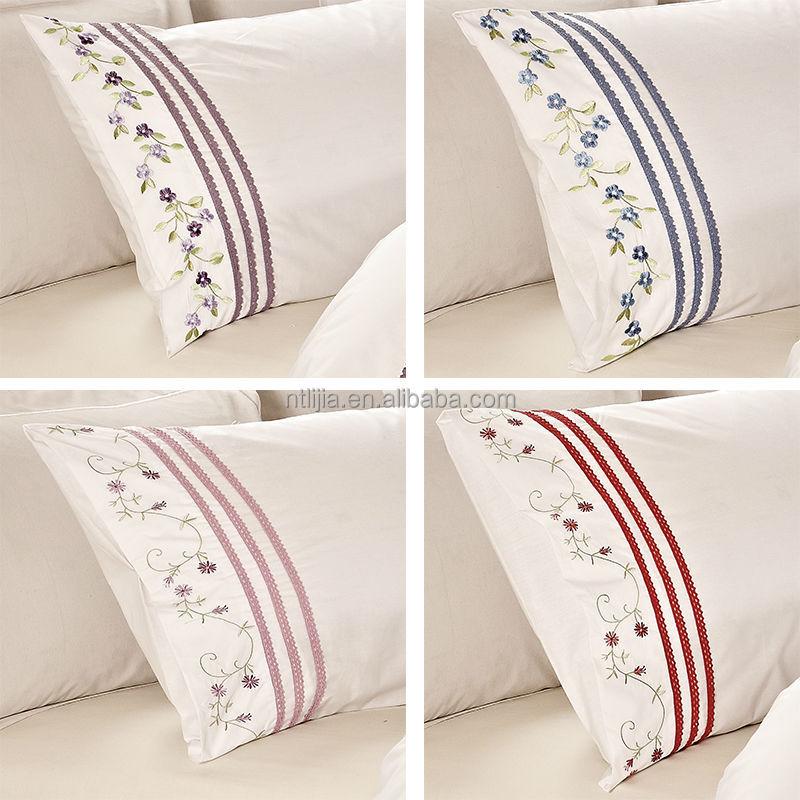 100 cotton lace pillow