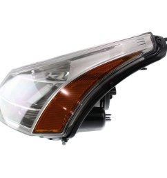 get quotations diften 114 a1813 x01 08 11 ford focus headlight headlamp chrome trim [ 1200 x 1200 Pixel ]
