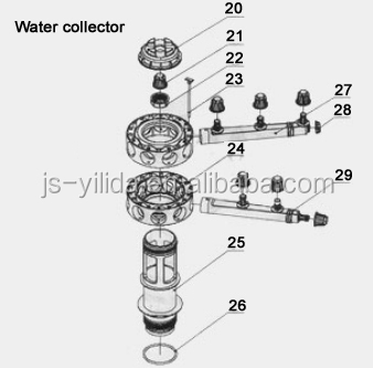 Large Capacity Automatic Ion Exchange Resin Water Softener