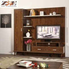 Tv Wall Unit Design For Living Room Side Bench Alibaba Wood Led Furniture Showcase