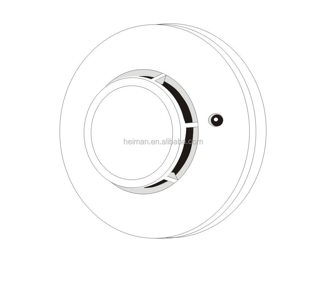 4 Wire Conventional Photoelectric Dc 48v Smoke Detector