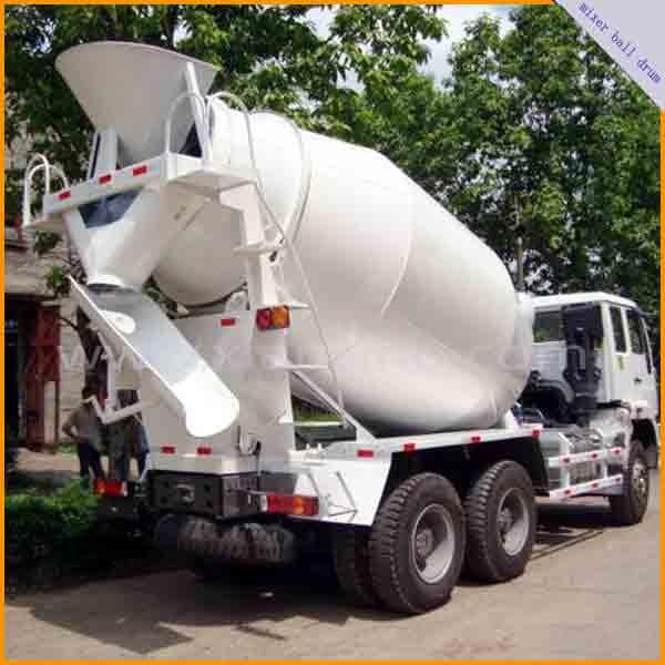 concrete truck mixer drum