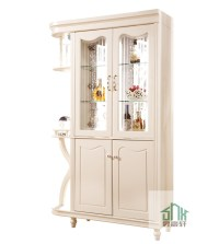 Corner Glass Cabinets For Living Room  Cabinets Matttroy
