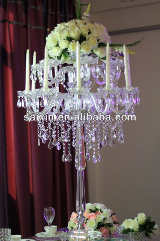 Gorgeous Table Top Chandelier Centerpieces For Weddings Crystal Wedding Centerpiece Supplies Lighted Product On Alibaba