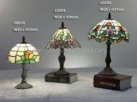 Home Decorative Mushroom Shape Glass Mosaic Table Lamp ...