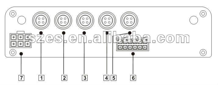 4ch Cctv Dvr Full D1 2tb Hdd G-sensor Gps 3g 4g Dvr H.264