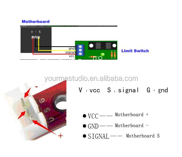limit switch wiring diagram clarion vx401 original 3d printer photoelectric stop endstop - buy ...