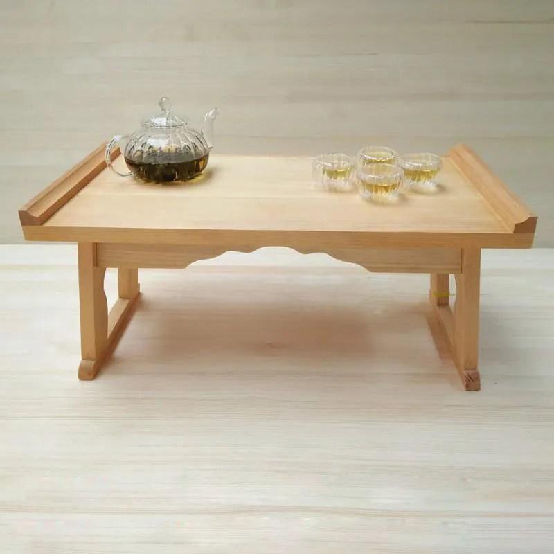 folding wood low table wooden tatami mat teapoy coffee table wooden buy wooden furniture wooden teatable wooden coffee table product on