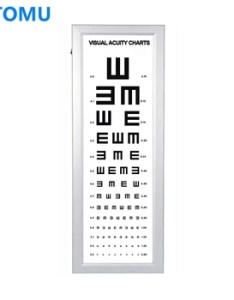 distance eye test visual chart light box also buy rh alibaba