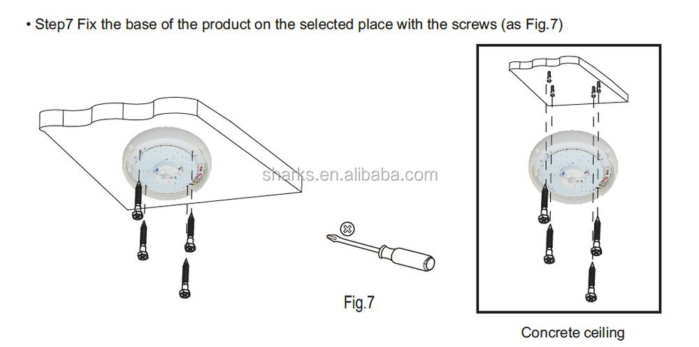 SK303L ceiling mounted motion sensor light,indoor light