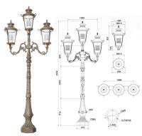 Antique Garden Lamp Post - Buy Garden Lamp Post,Antique ...