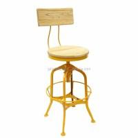 Vintage Retro Toledo Bar Chair/ Metal Vintage Toledo Stool ...