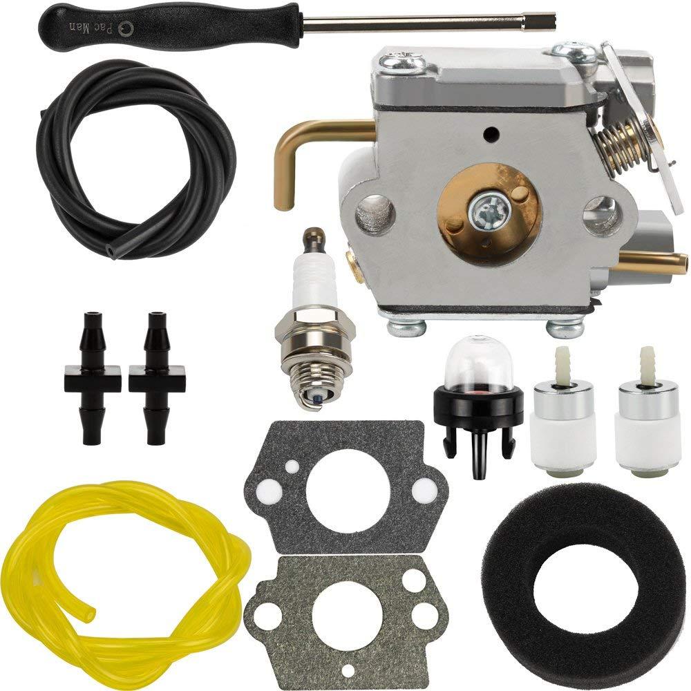 hight resolution of get quotations dalom wt 827 carburetor w air filter fuel line for troy bilt 753