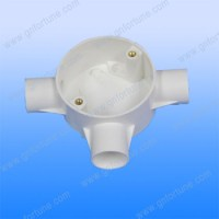 Electrical Pipe Fittings Plastic White Pvc Tee Way Boxes ...