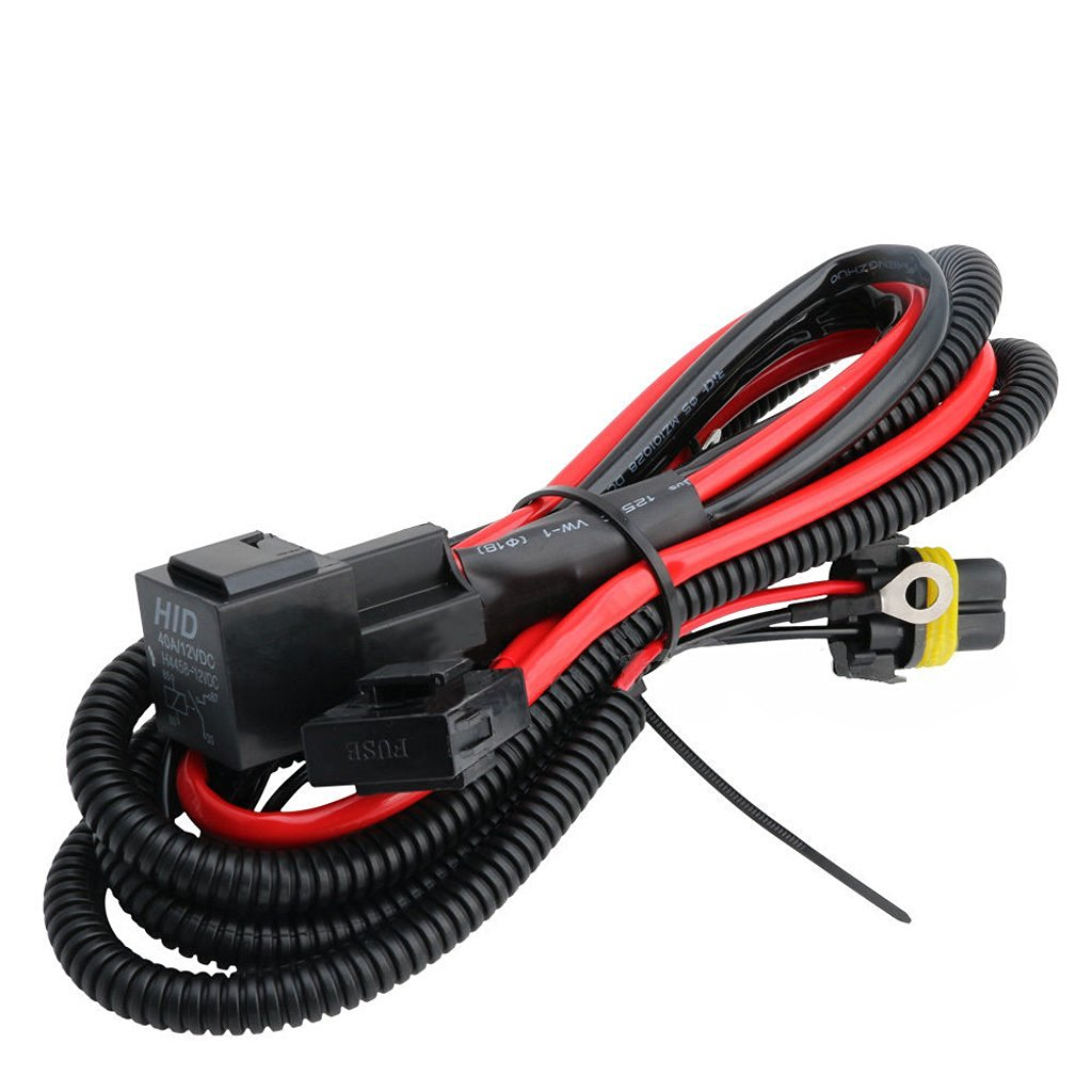 hight resolution of xenon hid conversion light relay wire wiring harness kit h1 3 h7 h8 h9 h11
