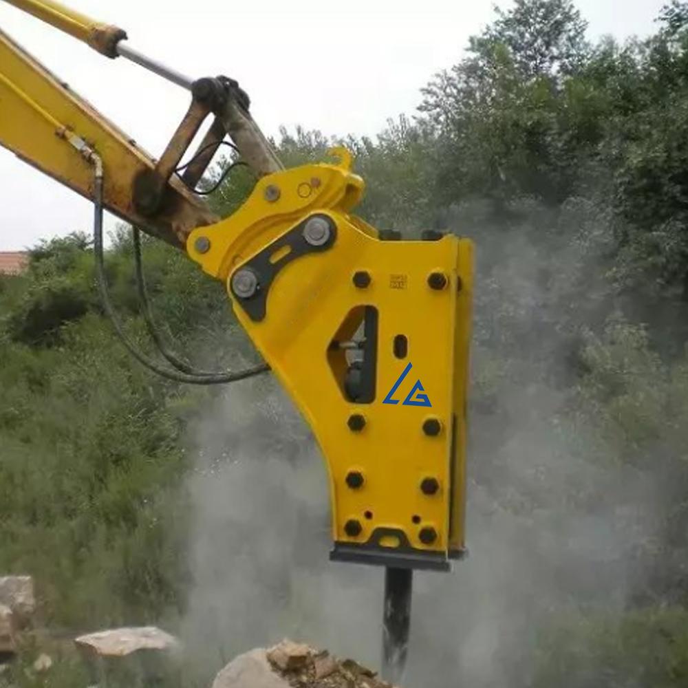 medium resolution of hydraulic concrete breaker suits for cat 330d