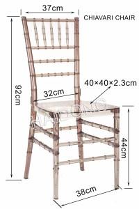 Cystal Resin Chiavari Chair/Chiavari Chair/ in Clear, View ...