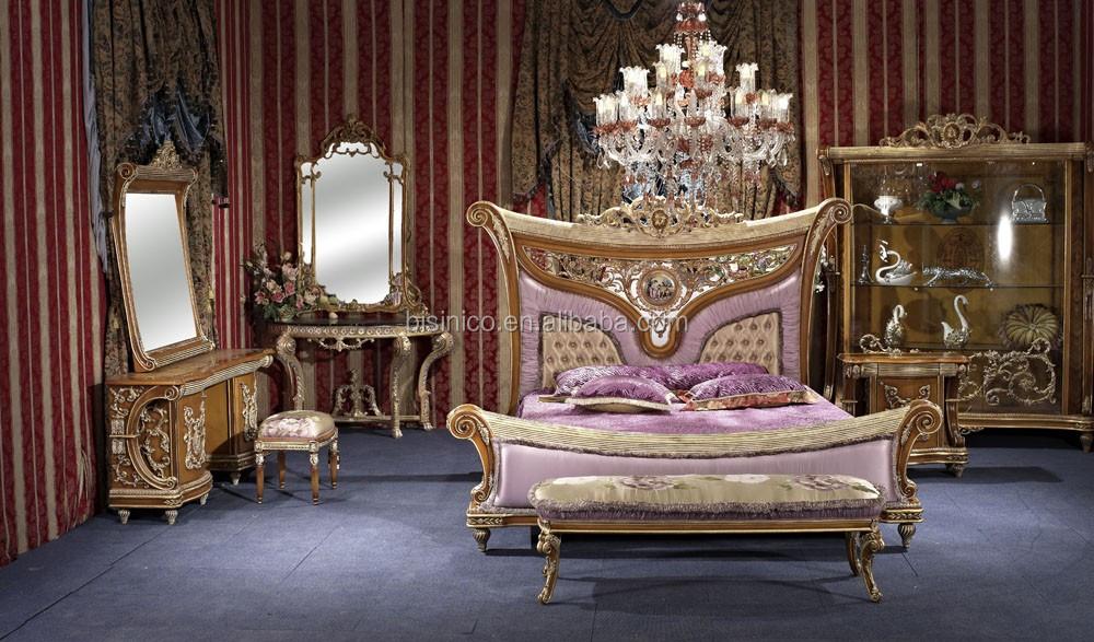 Bisini Luxury FurnitureBedroom Furniture Set Italian