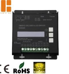 max 10ax6ch lcd screen dimmable dmx512 decoder de8359 [ 1000 x 941 Pixel ]