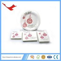 006 Christmas Party Supply Dinnerware Set For Disposable ...