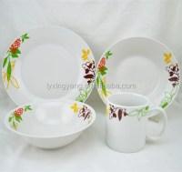 Arcopal Dinnerware,Luxury Dinner Plate Sets,Porcelain