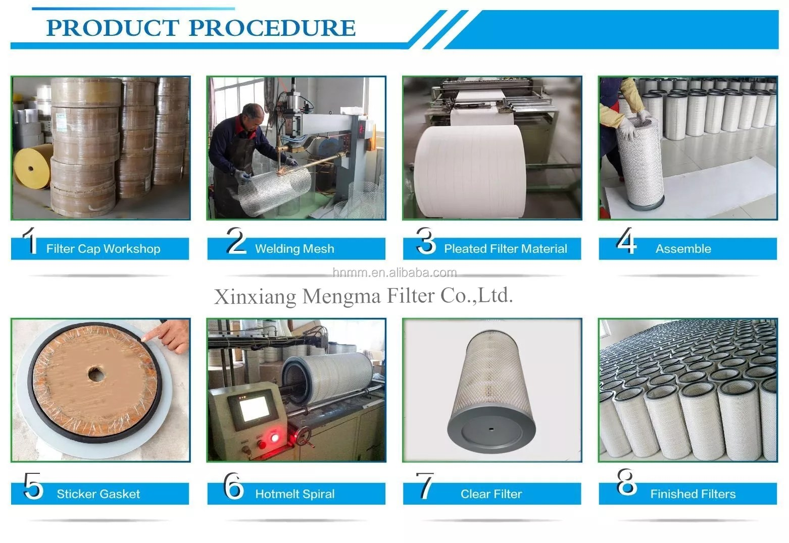 hight resolution of mengma new products replacement diesel engine fuel filter ir 0751 used in carter excavators 312d