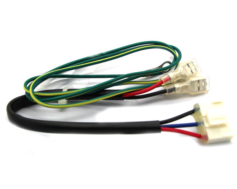 hight resolution of custom 3 pin connector wiring harness