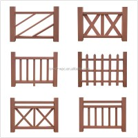 Rail Wood Deck Flower Box Railings Outdoor Wood Railing