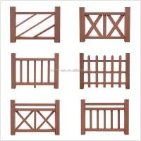 Rail Wood Deck Flower Box Railings Outdoor Wood Railing