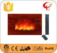 Wall Mounted Led Electric Fake Indoor Fireplaces - Buy ...