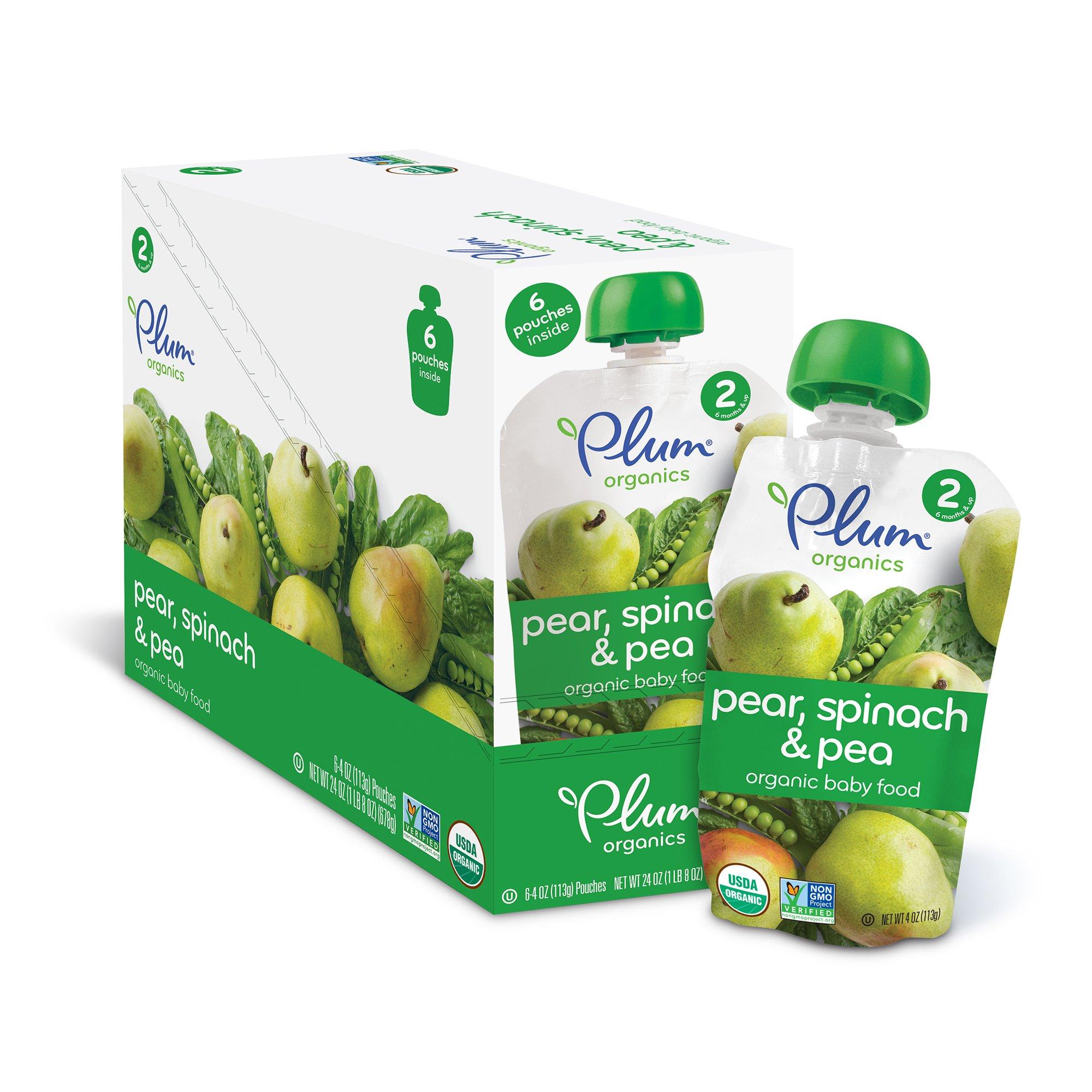 cheap baby food plum