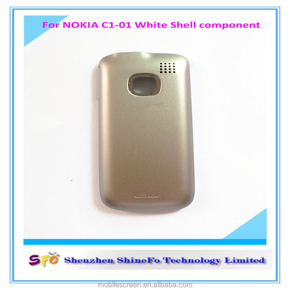 hight resolution of competitive price battery door cover housing for nokia c1 01