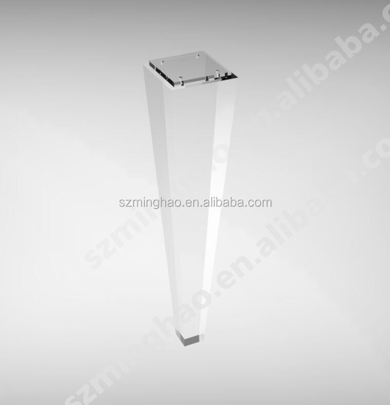 acrylic chair legs graco elefanta high customized modern clear furniture table buy for product